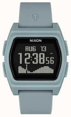 Nixon Rival | Fog Coloured | Digital | Fog Coloured silicone strap A1310-5035