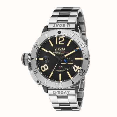 U-Boat SOMMERSO/A ON STAINLESS STEEL BRACELET 9007/A/MT