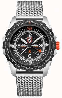 Luminox Bear Grylls Survival Air | GMT | Black Dial | Stainless Steel Mesh | Bracelet XB.3762
