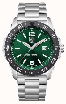 Luminox Pacific Diver | Green Dial | Stainless Steel Bracelet XS.3137