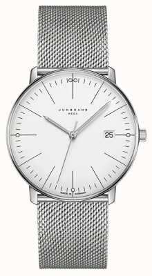 Junghans Max Bill Mega Sapphire Glass Watch 58/4821.46