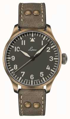 Laco Augsburg Oliv 42 | Limited Edition | Olive Leather Strap 862127