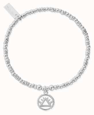 ChloBo Sparkle Disc Fire Bracelet | Sterling Silver SBSD3110
