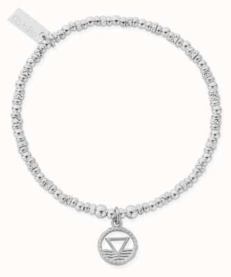 ChloBo Sparkle Disc Water Bracelet | Sterling Silver SBSD3114