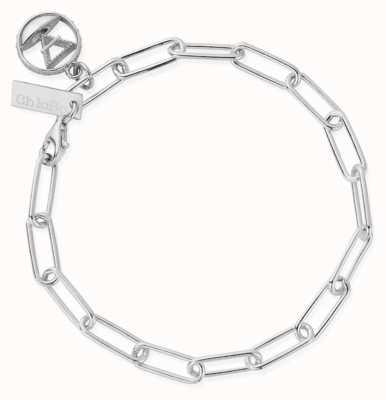 ChloBo Link Chain Earth Bracelet | Sterling Silver SBLC3112