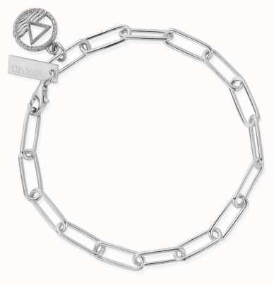 ChloBo Link Chain Water Bracelet | Sterling Silver SBLC3114