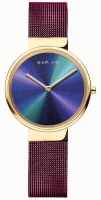 Bering Classic | Women's | Purple Mesh | Multi-Coloured Dial 19031-929