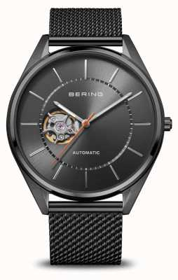 Bering Automatic | Men's | Polished/Brushed Grey | Grey Dial 16743-377