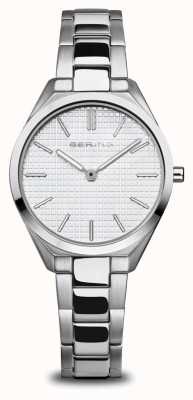 Bering Ultra Slim | Women's | Polished/Brushed Silver | Silver Dial 17231-700