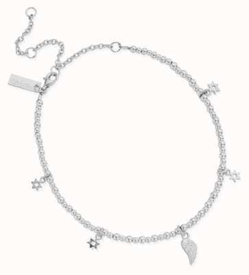 ChloBo Mini Cute Divinity Within Anklet   Sterling Silver SANMC23503058