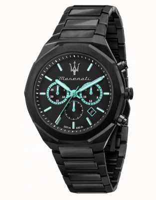 Maserati Stile Aqua Edition Black Plated Watch R8873644001