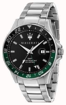 Maserati SFIDA Men's Dual Colour Black/Green Bezel R8853140005