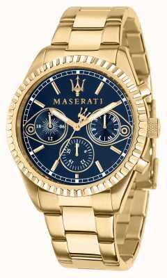 Maserati Competizione Men's Yellow-Gold Watch R8853100026