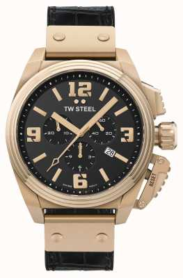 TW Steel Canteen PVD Plated Gold Stainless Steel TW1014