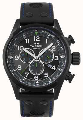 TW Steel | Volante | Petter Solberg Edition | Black Leather Strap | SVS306