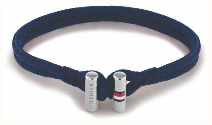 Tommy Hilfiger Unisex Nylon Blue Bracelet 2790337