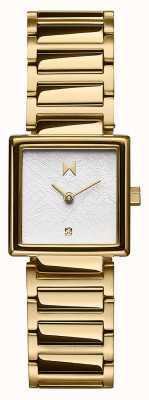 MVMT Frost Square Case Gold Plated Steel Bracelet 28000144-D