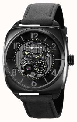 Briston Clubmaster Skeleton Black PVD Watch 211042.SPB.SK.1.CH