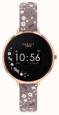 Radley Smart Watch Series 3 Grey Floral Strap RYS03-2016