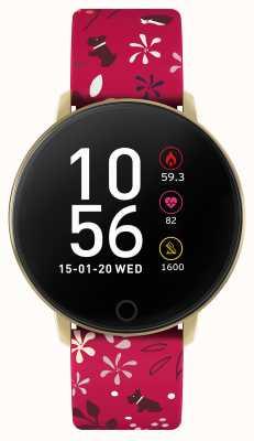 Radley Smart Watch Series 5 Orange Floral Strap RYS05-2044