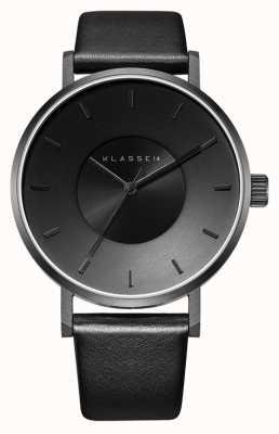 Klasse14 Volare Dark 36mm Black Dial Leather Strap VO14BK002W