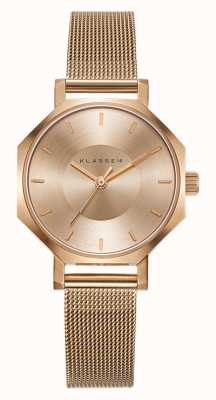 Klasse14 Okto Gold Milanese Mesh Bracelet 28MM OK17RG002S