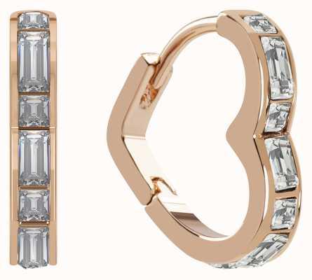 Radley Jewellery Radley Rocks Heart-Shaped Huggie Hoops RYJ1190S