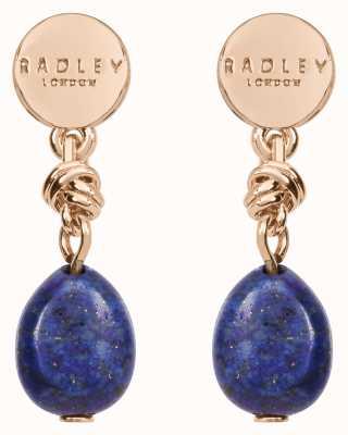 Radley Jewellery Stay Magical Blue Stone Drop Earrings RYJ1202S
