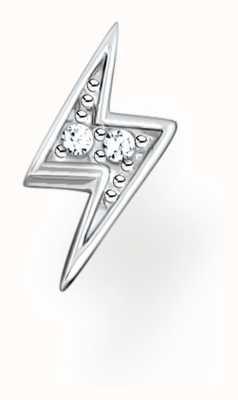 Thomas Sabo Sterling Silver Lightning Flash Single Stud Earring H2217-051-14
