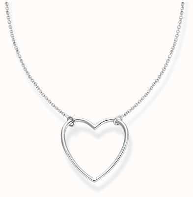 Thomas Sabo Charm Club | Sterling Silver | Heart | Necklace KE2138-001-21-L45V