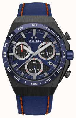 TW Steel Fast Lane CEO Tech Limited Edition Watch Red Details CE4072