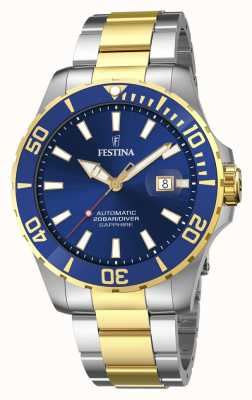 Festina Men's Automatic 44 mm Blue Dial Watch F20532/1