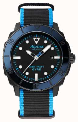 Alpina Seastrong Diver Gyre Automatic Limited Edition AL-525LBN4VG6