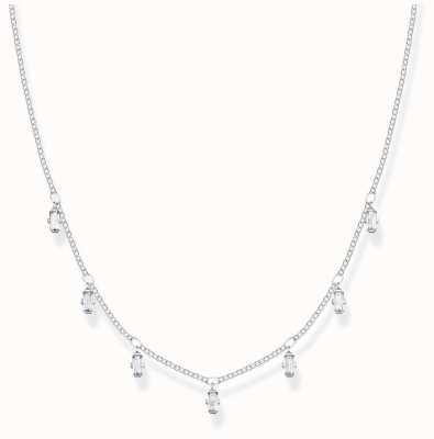 Thomas Sabo Sterling Silver | Baguette Cut Zirconia | Necklace KE1903-051-14-L40V