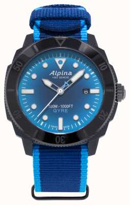 Alpina Limited Edition Seastrong Diver Gyre Smoked Blue AL-525LNSB4VG6