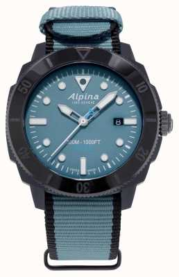 Alpina Limited Edition Seastrong Diver Gyre Automatic Blue AL-525LNB4VG6BLK
