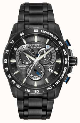 Citizen Radio Controlled Perpetual A-T Chronograph Black AT4007-54E