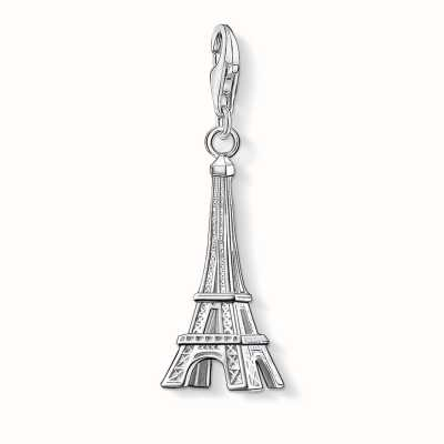 Thomas Sabo Eiffel Tower Charm 925 Sterling Silver 0029-001-12