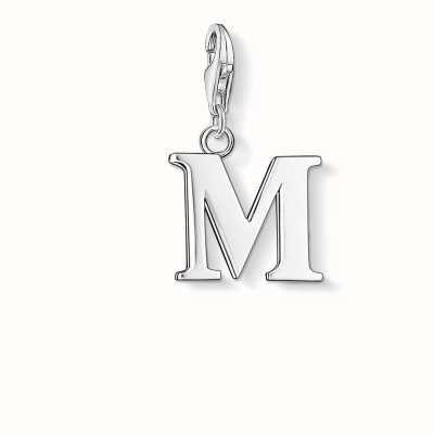 Thomas Sabo M Charm 925 Sterling Silver 0187-001-12