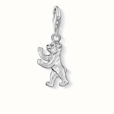 Thomas Sabo Berlin Bear Charm 925 Sterling Silver 0268-001-12