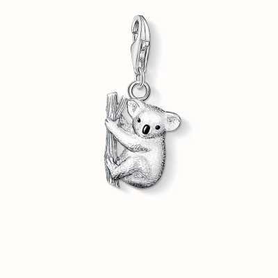 Thomas Sabo Koala Charm 925 Sterling Silver Cold Enamel 0643-007-12