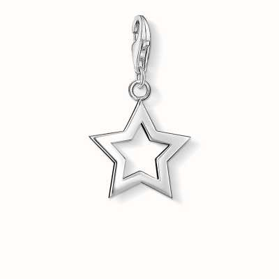 Thomas Sabo Star Charm 925 Sterling Silver 0857-001-12