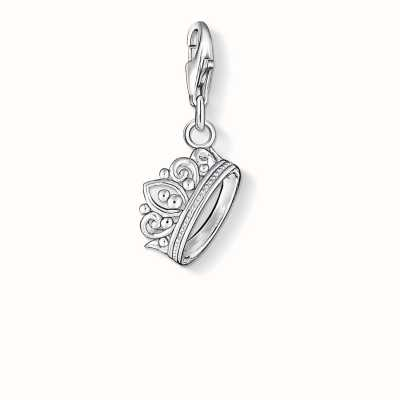 Thomas Sabo Crown Charm 925 Sterling Silver 1011-001-12