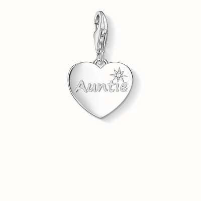 Thomas Sabo Auntie Charm White 925 Sterling Silver/ Zirconia 1271-051-14