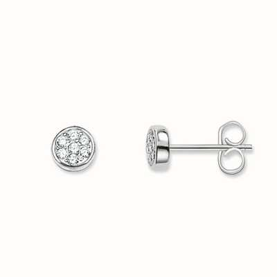 Thomas Sabo Earstuds White 925 Sterling Silver/ Zirconia H1848-051-14