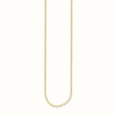 Thomas Sabo Charm necklace circle yellow gold-coloured X0250-413-39-L45v Thomas Sabo XgMlU