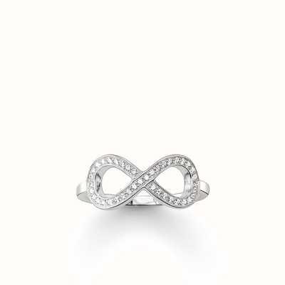 Thomas Sabo Ring White 925 Sterling Silver/ Zirconia TR2014-051-14-56