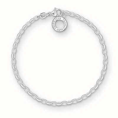 Thomas Sabo Bracelet 16cm Charm Carrier 925 Sterling Silver X0163-001-12-S