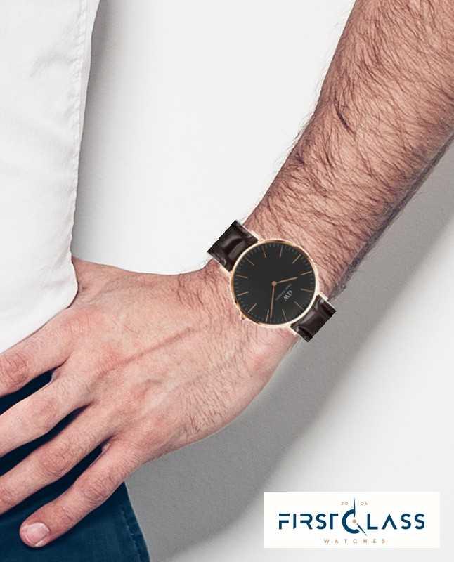 Classic Daniel 40mm Black Watch York Unisex Wellington Dw00100128 n0k8wPOX