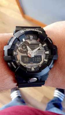 online store 96dbd 337d8 Casio Mens G-shock Analogue Digital Chronograph Navy